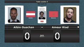Pool Men Last 16 Albin Ouschan vs Ameur Riad