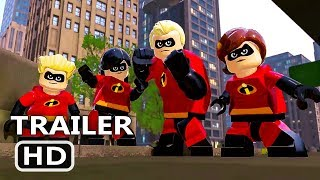 PS4 - Lego The Incredibles Trailer (2018)