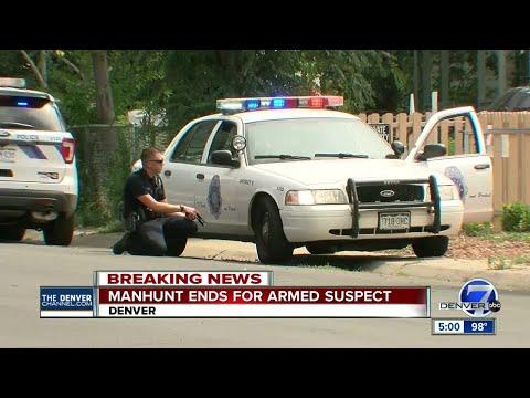 Denver Police snag wanted juvenile after neighborhood search