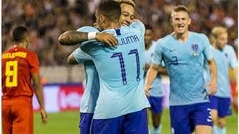 Belgien vs. Niederlande Spielbericht, 16.10.18, Internationale Freundschaftsspiele  