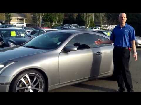 2003 Infiniti G35 Coupe Review We The Specs Performance Interior And More