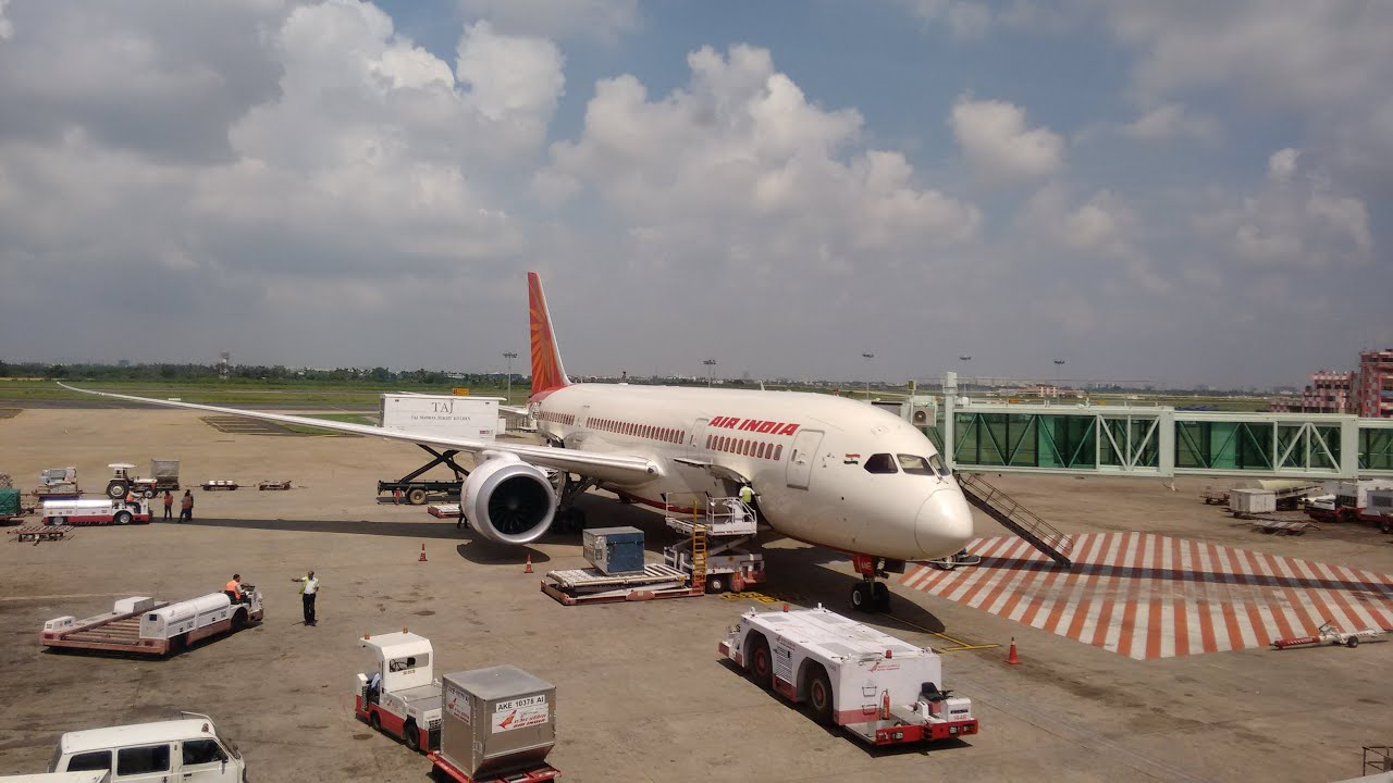 AIR INDIA AI-346 CHENNAI TO SINGAPORE - YouTube