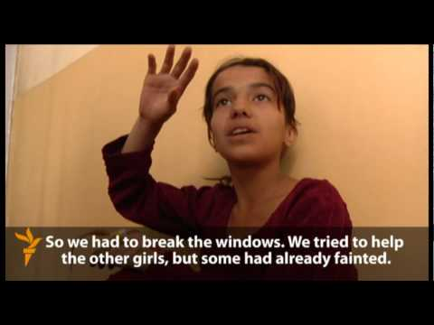Afghan Girls Fall Ill In Suspected Gas Attack (Radio Free Europe / Radio Liberty)
