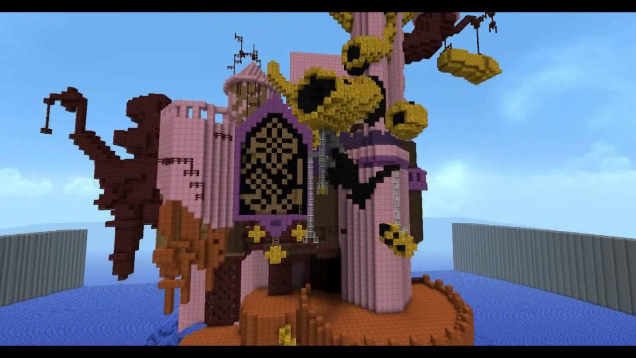 Minecraft Kingdom Hearts II Radiant Garden (unfinished) - YouTube