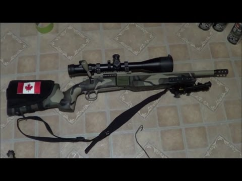 BEST RIFLE DIY CAMO PAINT STEP BY STEP IN LESS THAN 1 HR. DETAILED WALK THROUGH
