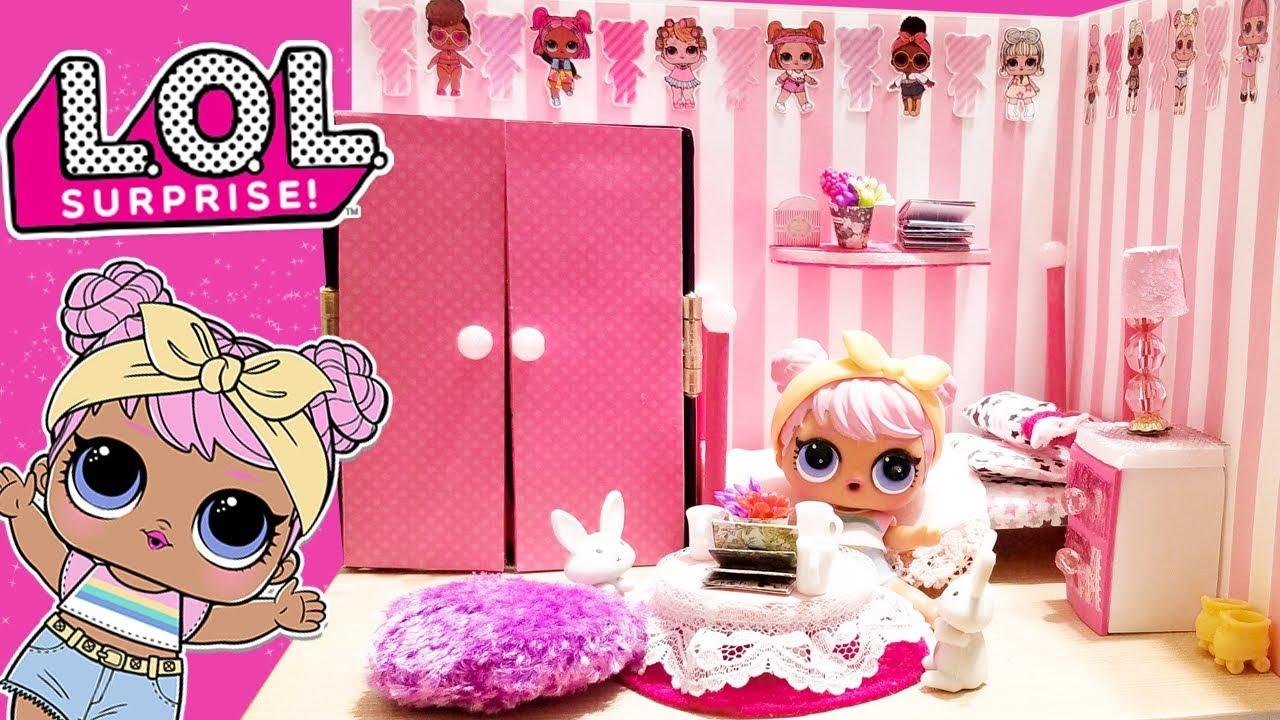 картинки комната для кукол лол модели