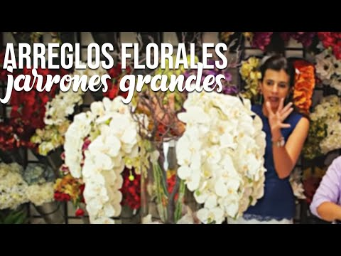 Tutorial Arreglos Florales En Jarrones Grandes Youtube