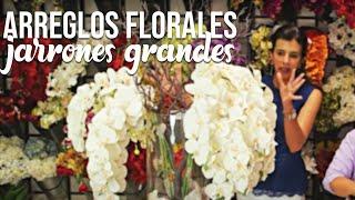 Tutorial Arreglos Florales En Jarrones Grandes