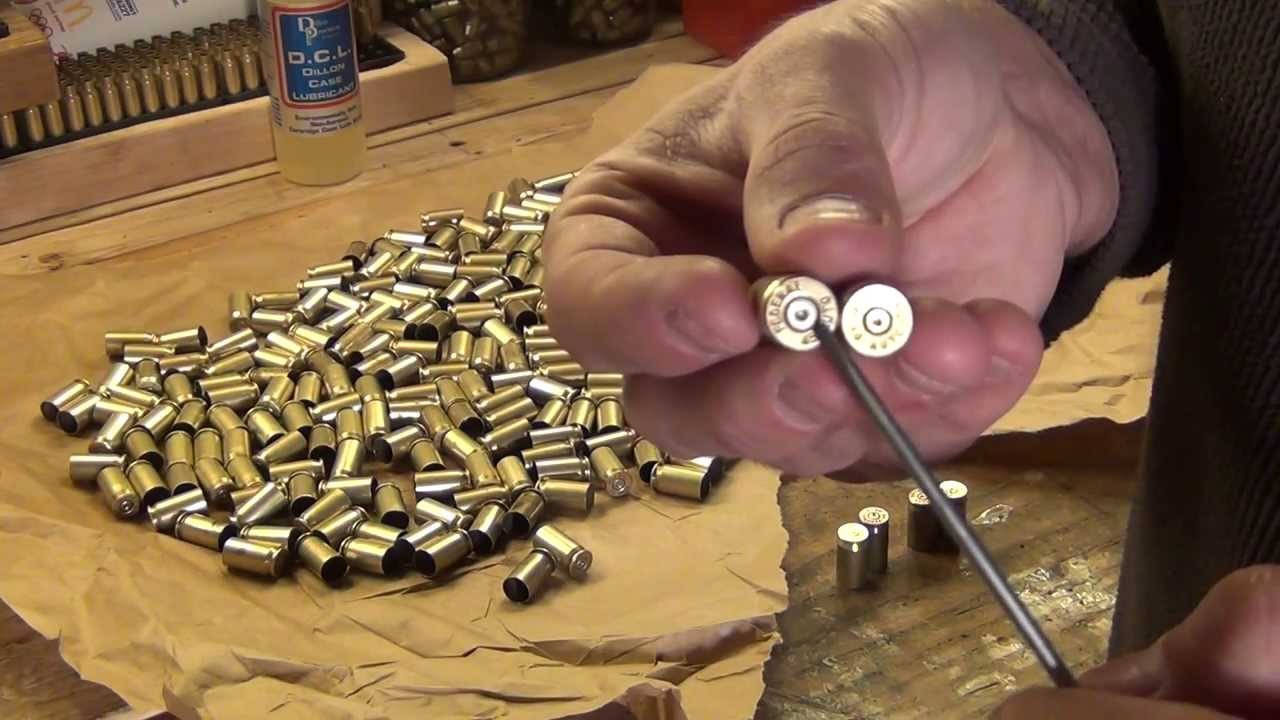 Small pistol primers in the 45 acp? - HD - YouTube