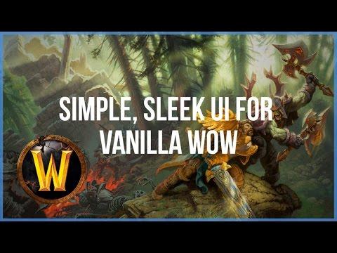 Simple, Sleek UI for Vanilla WoW - Nostalrius - Elysium
