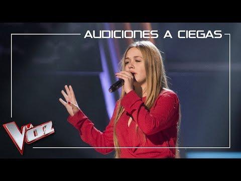 Lorena Santos Canta 'No Me Doy Por Vencido' | Audiciones A Ciegas | La Voz Antena 3 2019