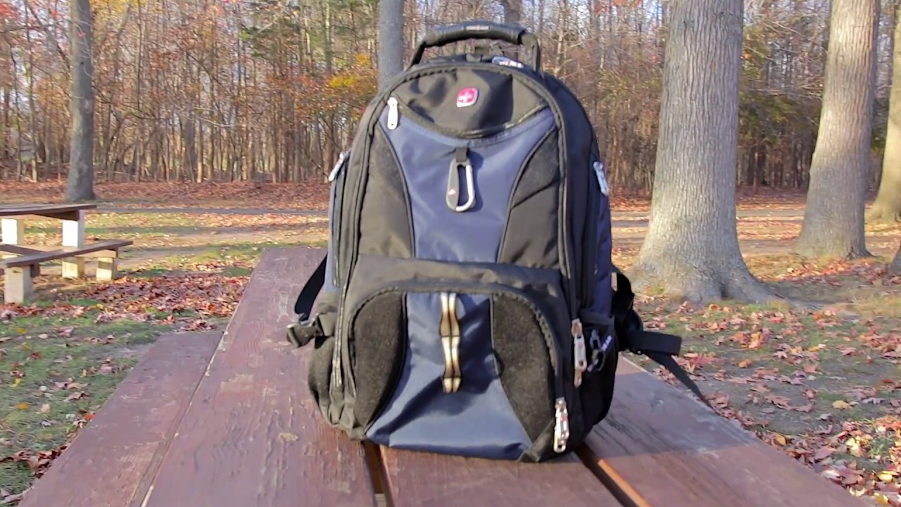 SwissGear Travel Gear ScanSmart Backpack 1900 Review - YouTube