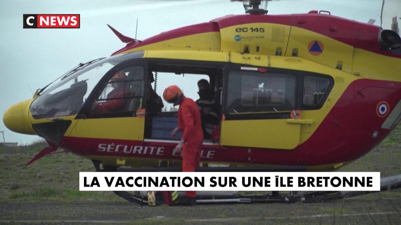 Covid-19 : opération vaccination sur une île bretonne