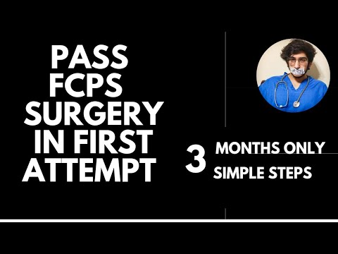 How to PASS Fcps Surgery+ Allied in First Attempt | Fresh or Repeater | 3 THINGS TO DO | Full Plan