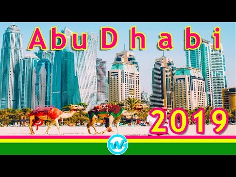 Abu Dhabi City Tour 2018 | World's most beautiful Capital | UAE Capital | Dubai 2019