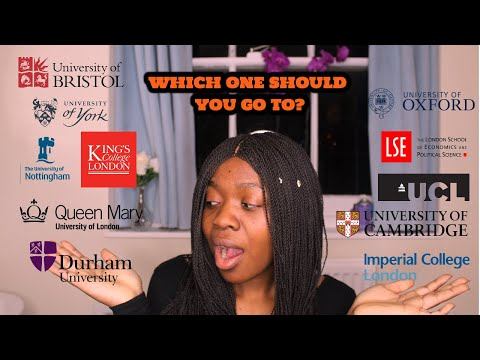 THE TEA ON TOP UNIVERSITIES - Which One Is For You? (Part 1)