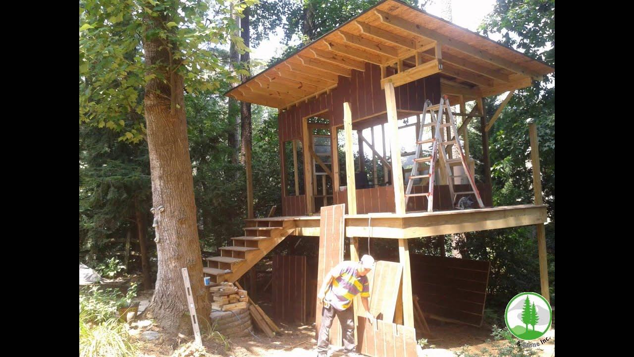Playhouse cabin backyard retreat in Atlanta