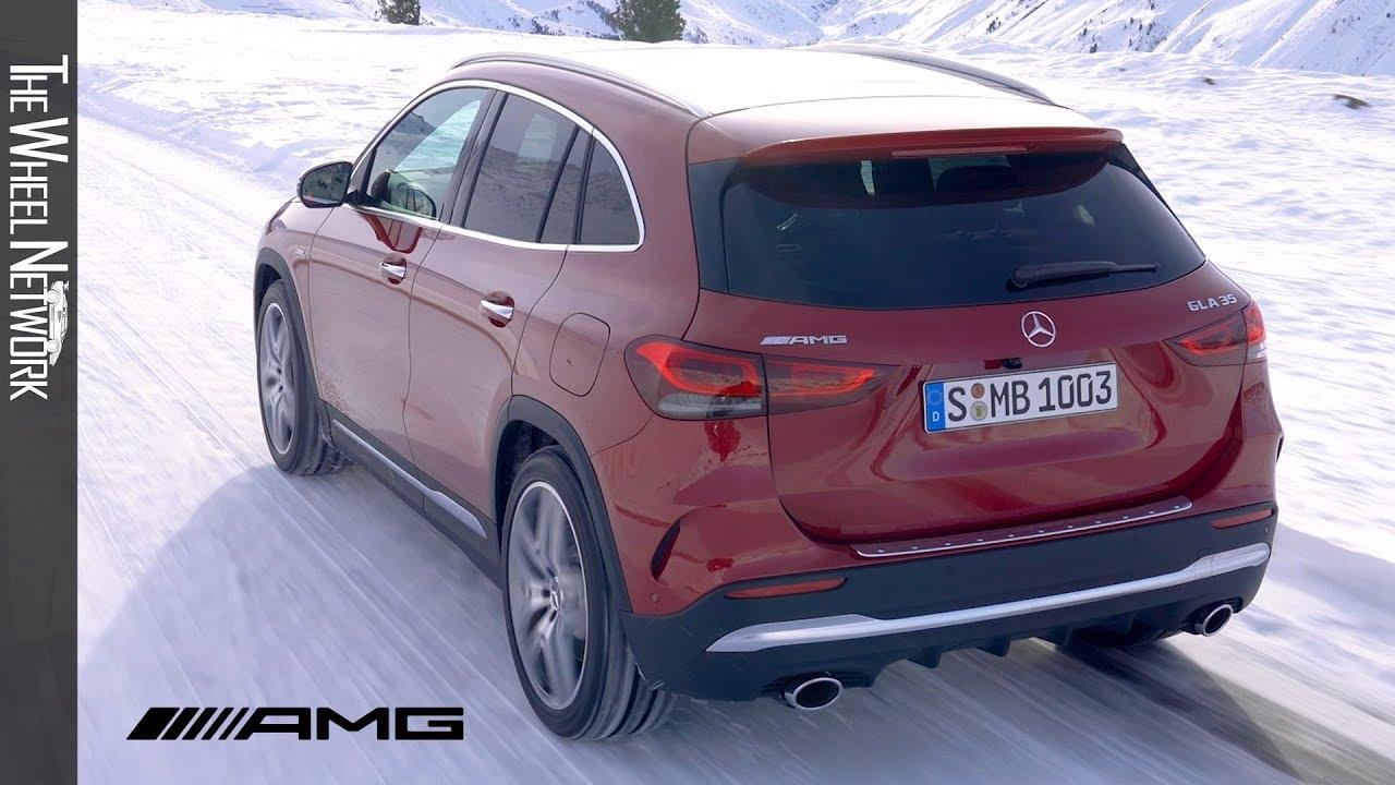 2020 Mercedes Amg Gla 35 4matic Driving Interior Exterior
