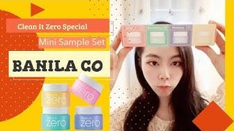 BANILA CO Clean It Zero Special Mini Sample Set