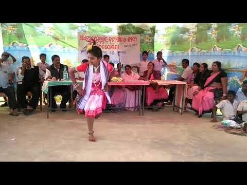Dalkhai Re   school girl   sambalpuri dance   