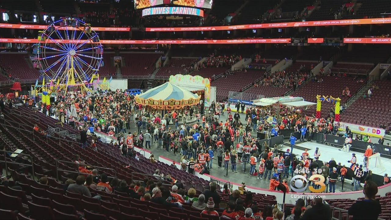 42nd annual flyers wives carnival raises money for non profit