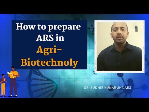 Meet 1st Ranker of ICAR-ARS Agri-Biotechnoly-2015,Mr.Sudhir Kumar Jha