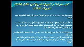 """""""منى أمرشا"""" و""""صوفيا المريخ""""من أفضل الفنانات العربيات الفاتنات"""