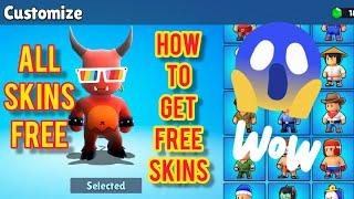How to get Free Skins In Stumble Guys   All Skins Free. #freeskins screenshot 3