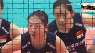ไฮไลท์ การแข่งขันวอลเลย์บอลหญิงเวิลด์ คัพ 2019 จีน พบ รัสเซีย