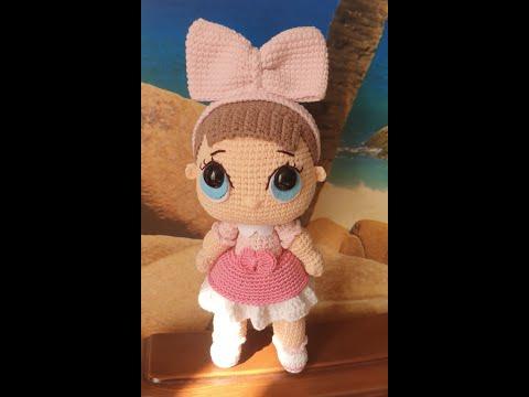 Вязаные куклы крючком со схемами куклы