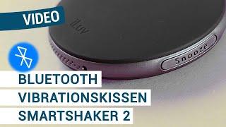Produktvideo zu Bluetooth-Vibrationskissen Humantechnik SmartShaker-2 Schwarz