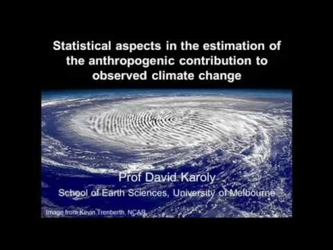 Estimating the anthropogenic contribution to observed climate change (2016)