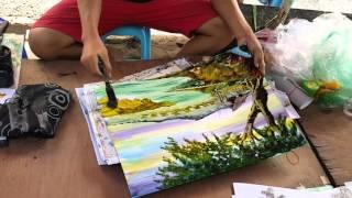 """ศิลปะจากใบมีด by """"ko ko aung"""" from Myanmar"""