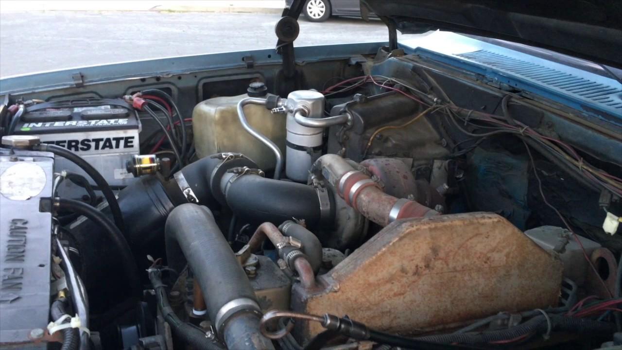 1985 Chevrolet 2500 4X4 Cummins Diesel Suburban Worldwide Ebay No ...
