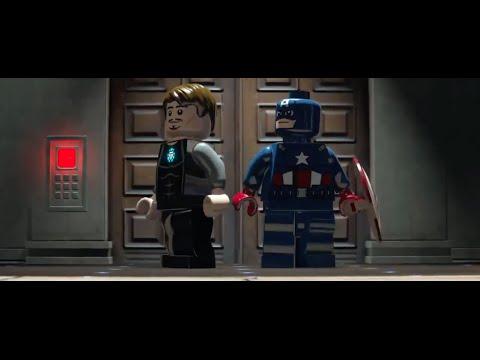Lego marvel superheroes rebooted resuited  mandarin~aldrich killian unlock