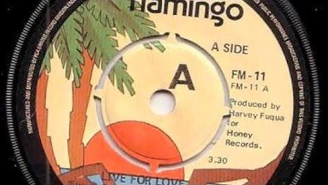 G. C. Cameron - Live For Love - Flamingo 1980