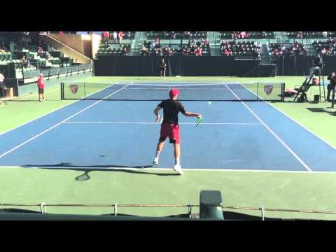 Tom Fawcett (Stanford) vs Andre Goransson (Cal)