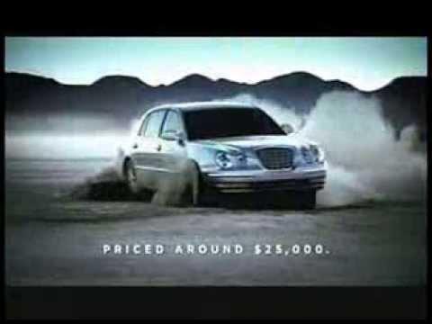 Kia Amanti (Opirus) 2004 Commercial (us)