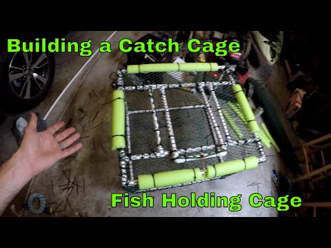 Building A Bass LIVE-WELL   Holding Tank Out Of PVC   B Fishing  