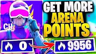 How to GET More ARENA POINTS and Reach CHAMPION League | Think Like a PRO in FORTNITE!