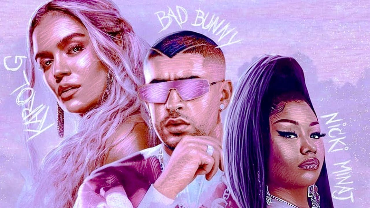 TUSA REMIX - KAROL G, NICKI MINAJ, BAD BUNNY | 2020