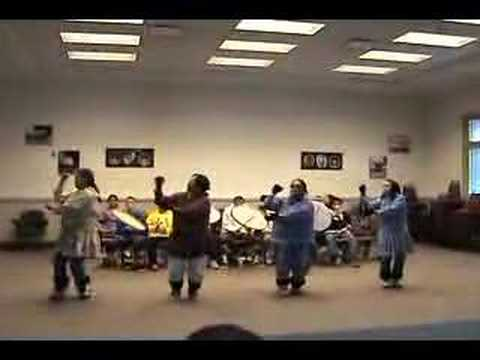 Inupiat dancers perform ancient dances.   1 of 3