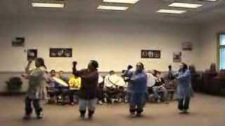 Inupiat dancers perform ancient dances.   1 of 3