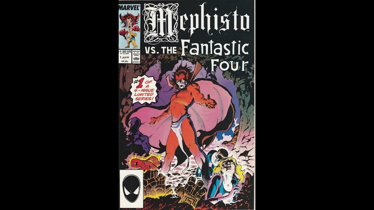 667bef5cd2 Mephisto Vs. -- Issue 1 (1987, Marvel Comics) - YouTube