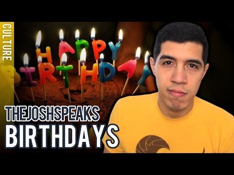 Why You Shouldn't Celebrate Birthdays