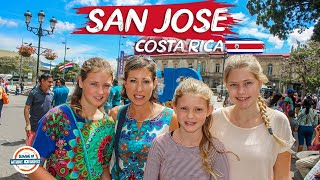 San Jose Costa Rica Vacation Travel Guide | 90+ Countries with 3 Kids