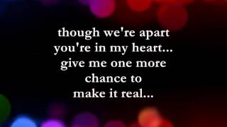 Make It Real  || Lyrics ||  The Jets