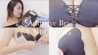 BRA101 PT 3: $13 Adhesive Push Up Bra? Does It Work? Supportive? Drawstring Feature!