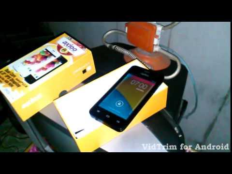 Axioo PicoPhone 4 Unboxing