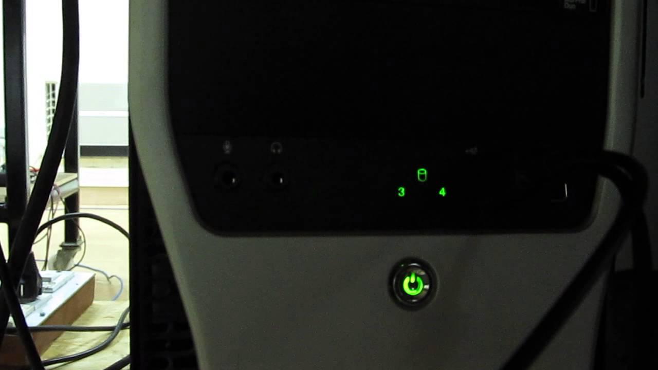 Dell T5500 Error Codes